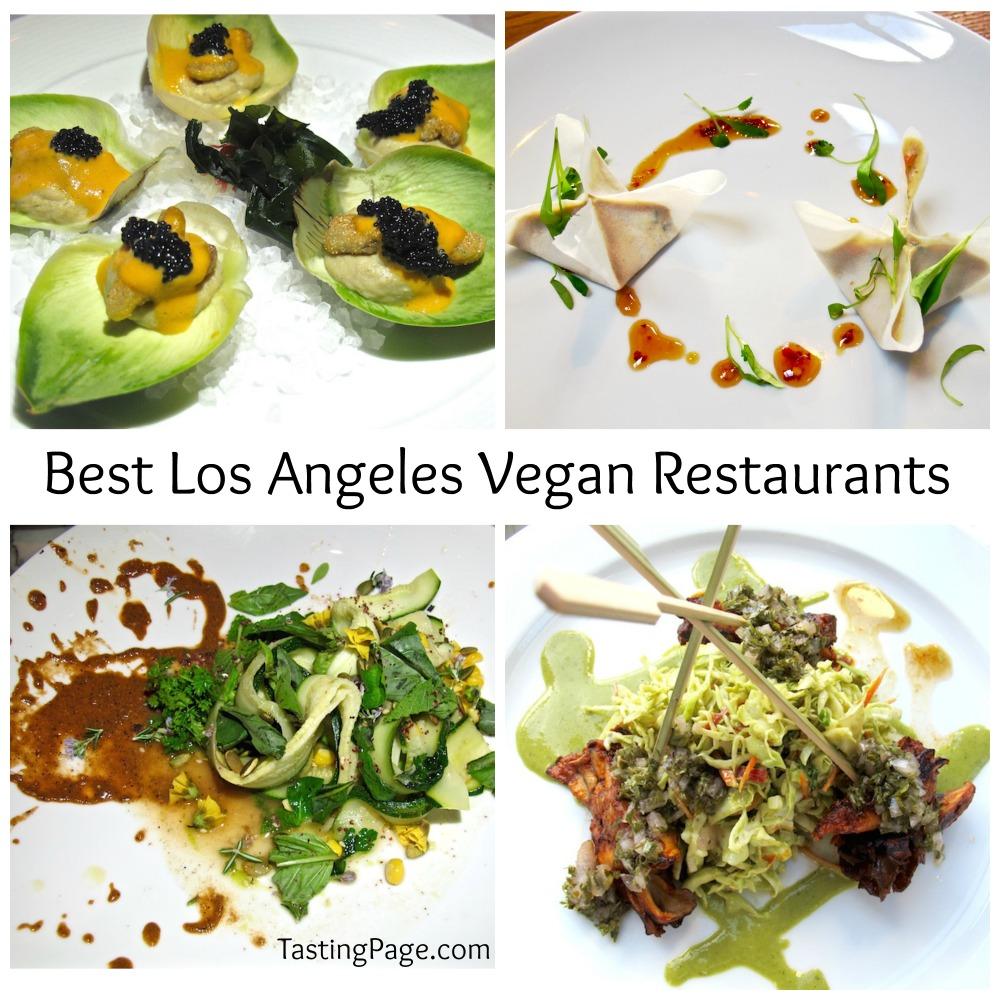 Los Angeles Best Vegan Restaurants Tasting Page