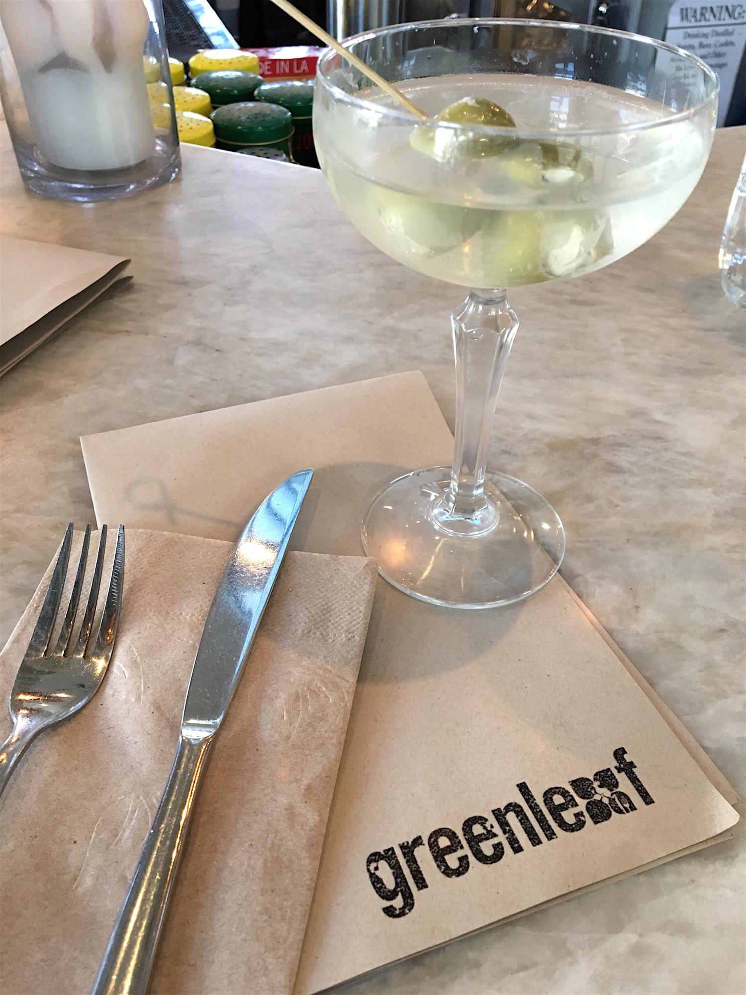 Greenleaf Venice cocktails