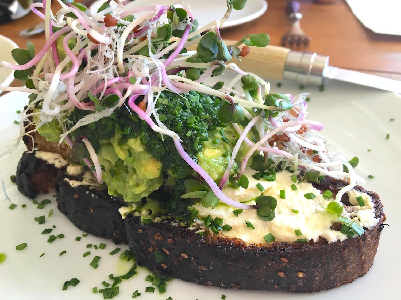 Dudley Market avocado toast
