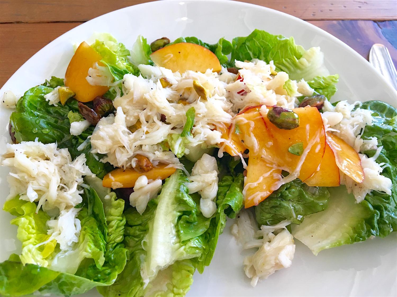 Dudley Market crab salad