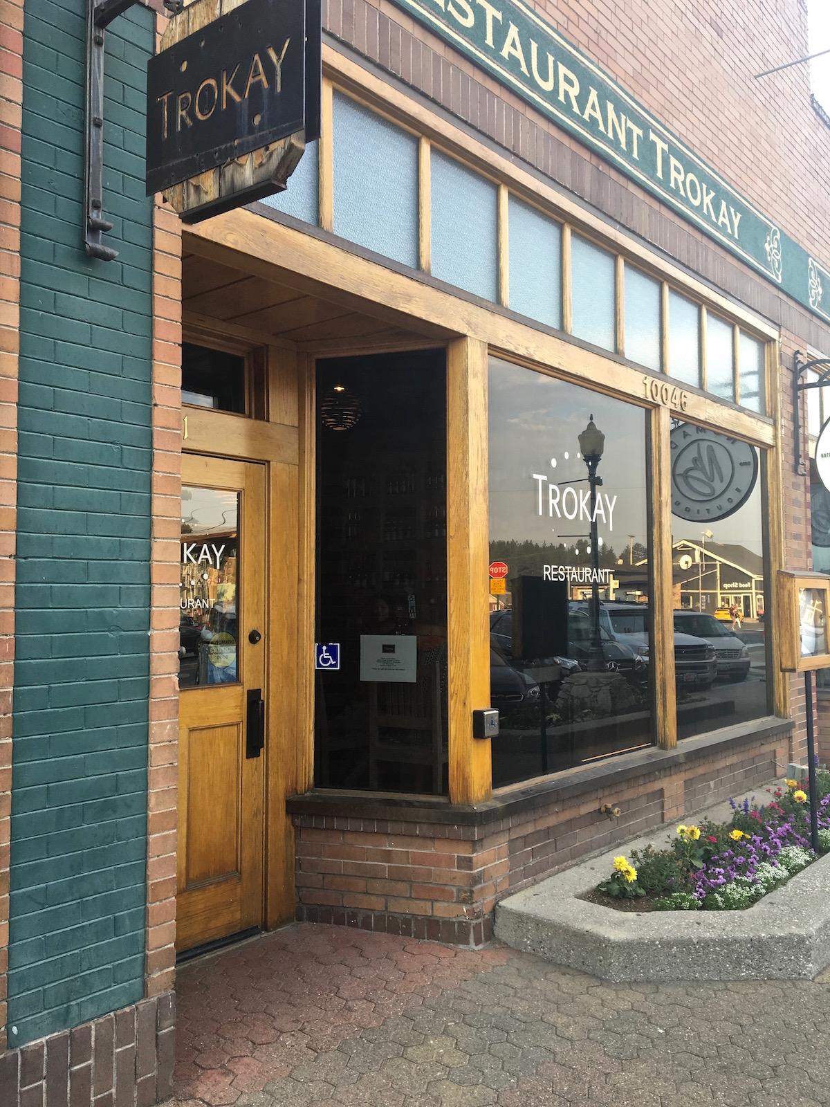 Trokay Restaurant Truckee