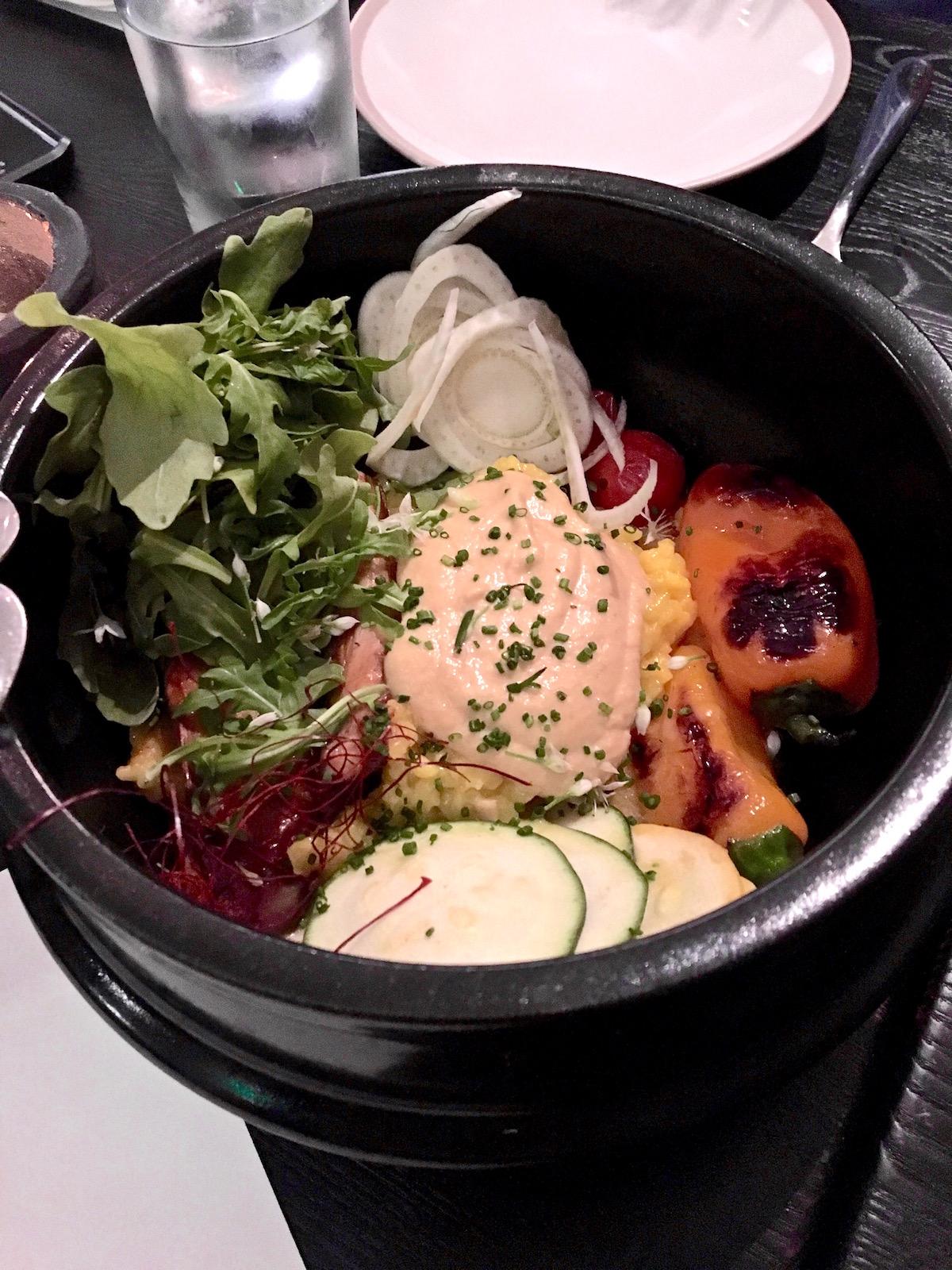 Erven Plant Based Restaurant Santa Monica hot pot   TastingPage.com