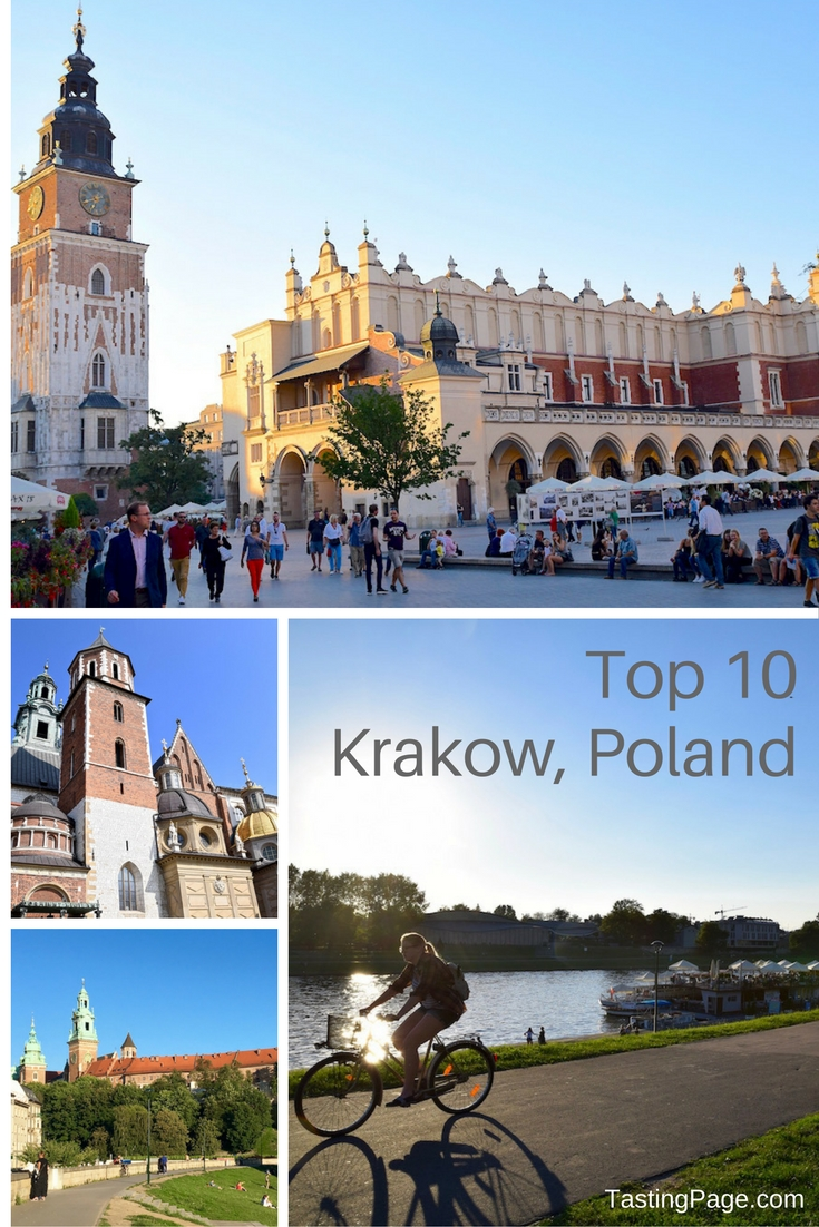 Top 10 Krakow Poland - your can't miss sights for visiting Krakow | TastingPage.com