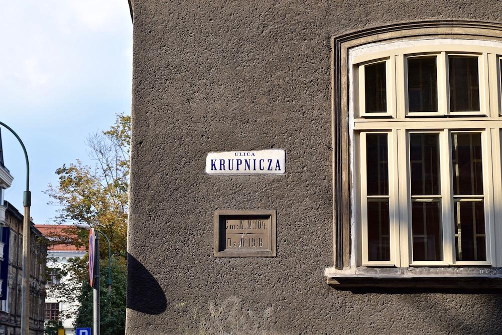 Ulica Krupnicza Krakow Healthy Street