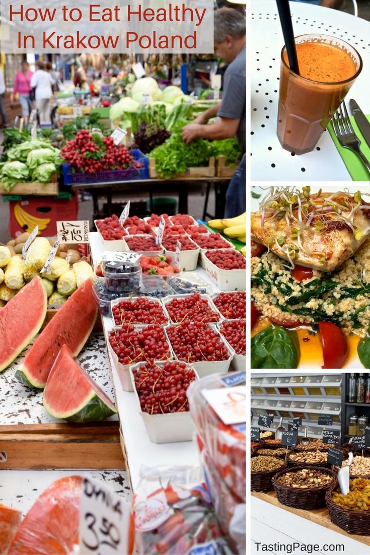 How to Eat Healthy in Krakow