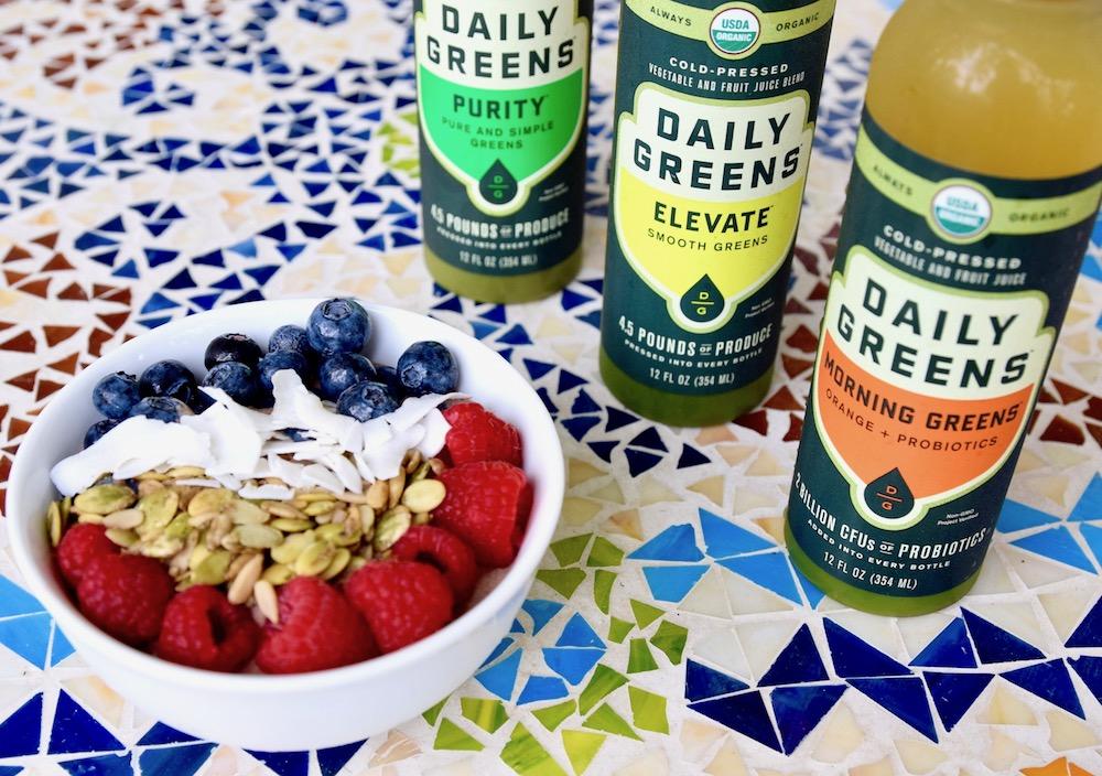 Daily greens breakfast