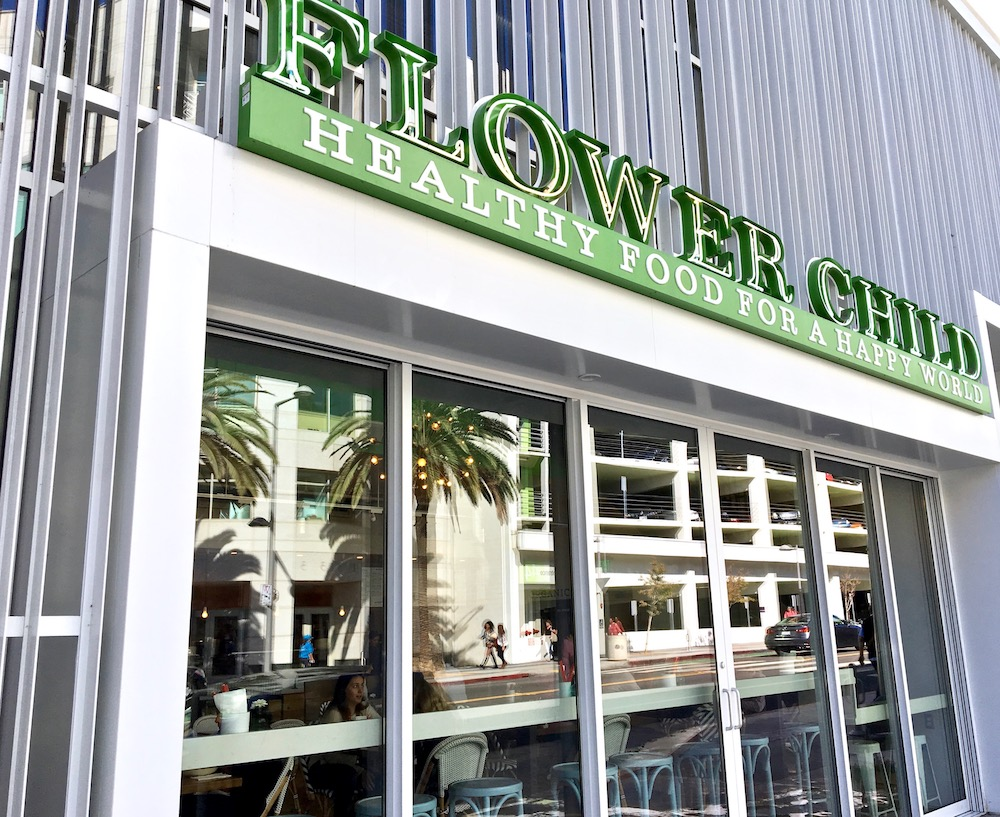 Flower Child Santa Monica restaurant