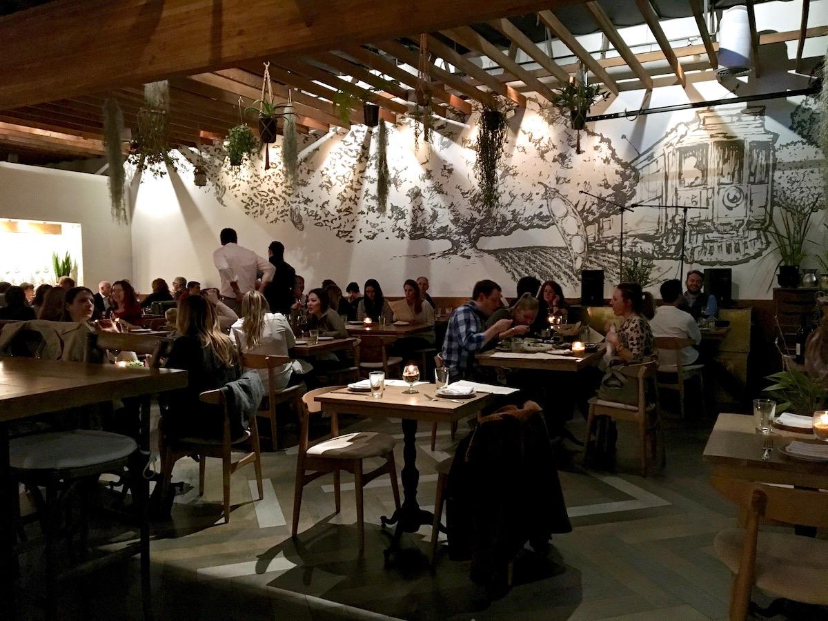 The Mar Vista Restaurant Tasting Page