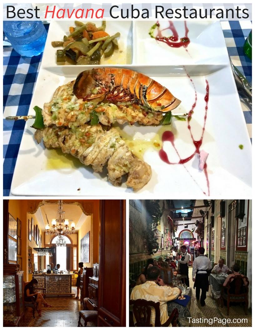 Best restaurants and paladares in Havana Cuba | TastingPage.com
