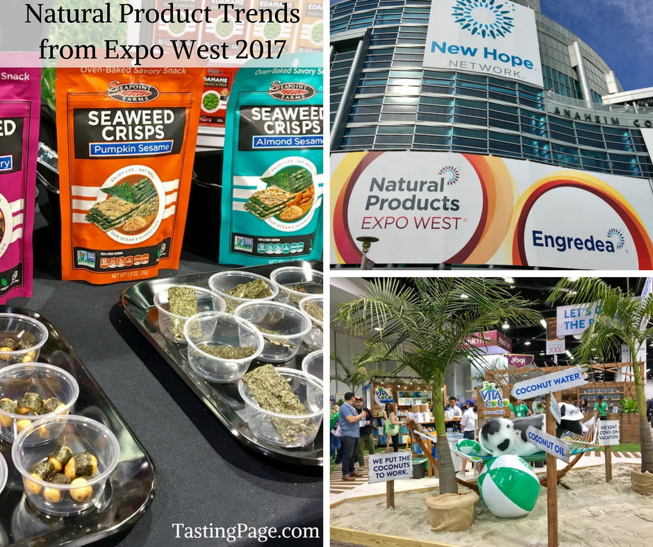 Natural Product Trends from Expo West 2017 | TastingPage.com