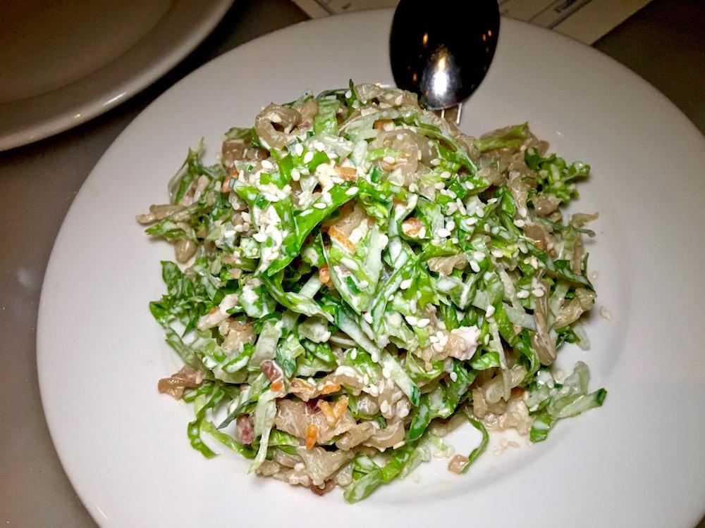CAssia jellyfish salad