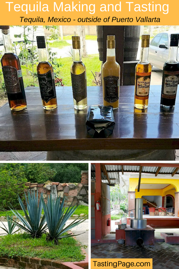 How to make tequila at Baston del Rey, outside of Puerto Vallarta, Mexica | TastingPage.com