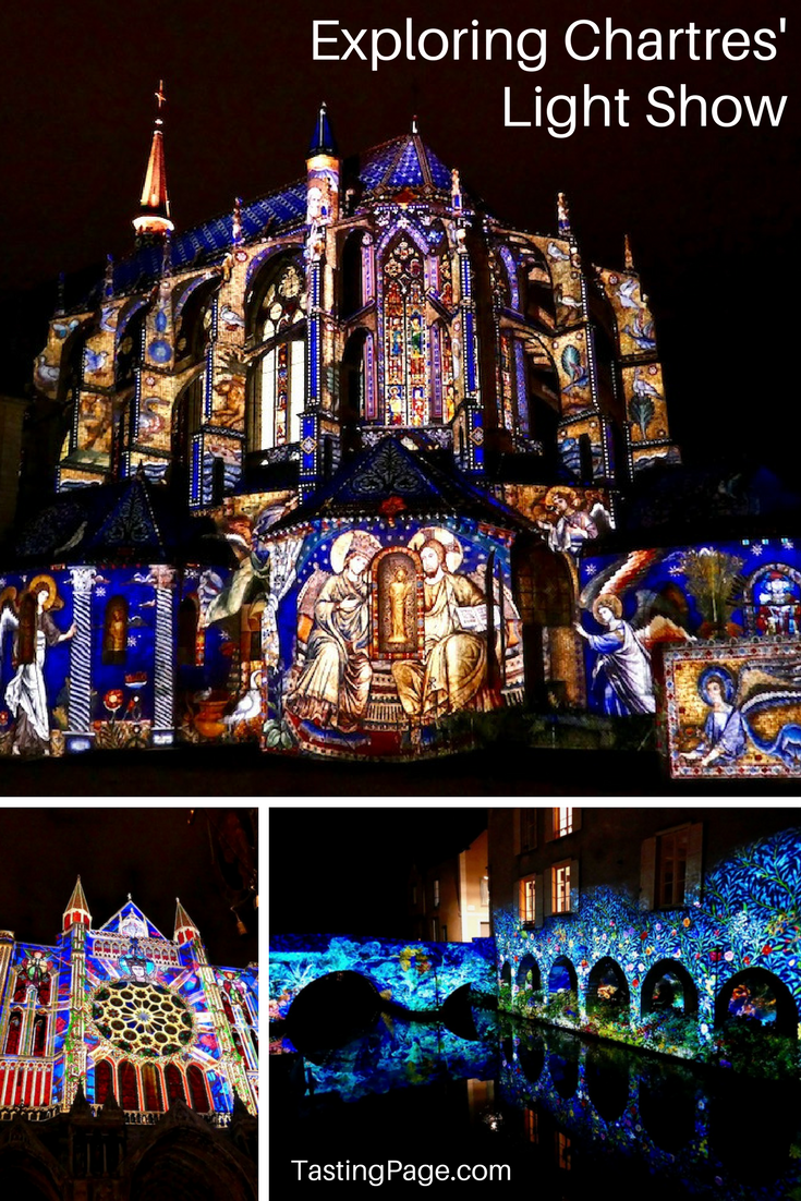 Exploring Chartres en Lumieres Light Show with 24 spectacular illuminations across the city | TastingPage.com