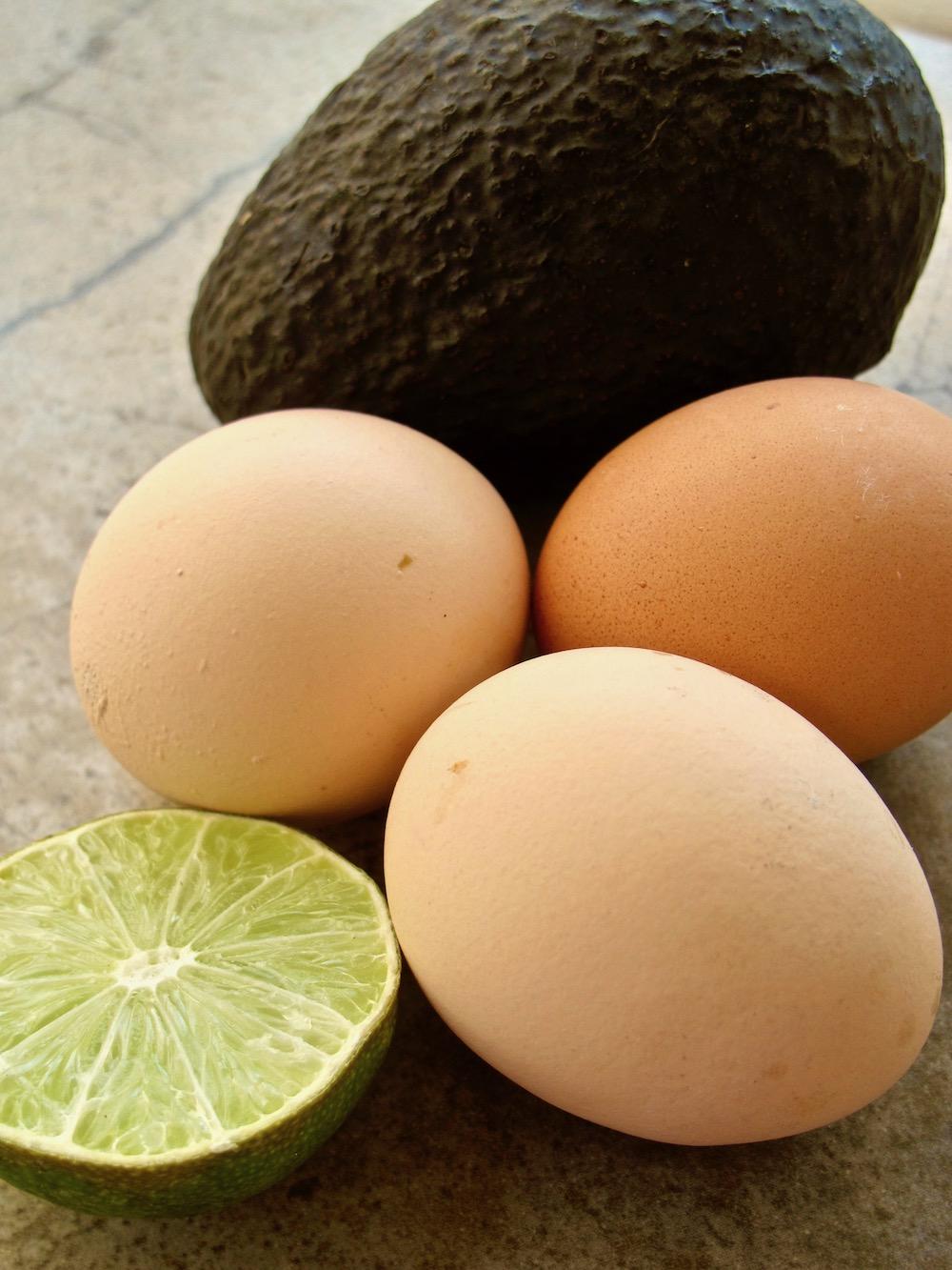 deviled eggs lime avocado