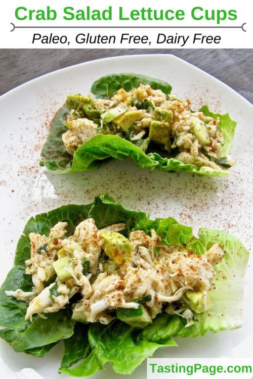 Crab Salad Recipe Gluten Free