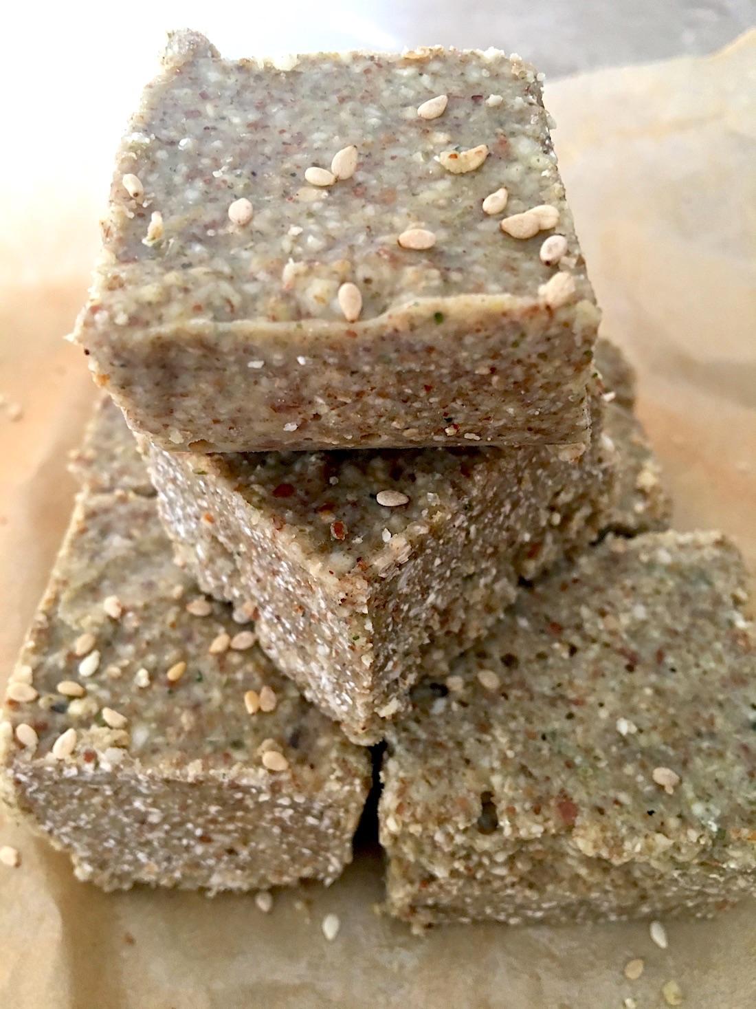 Paleo super seed bars
