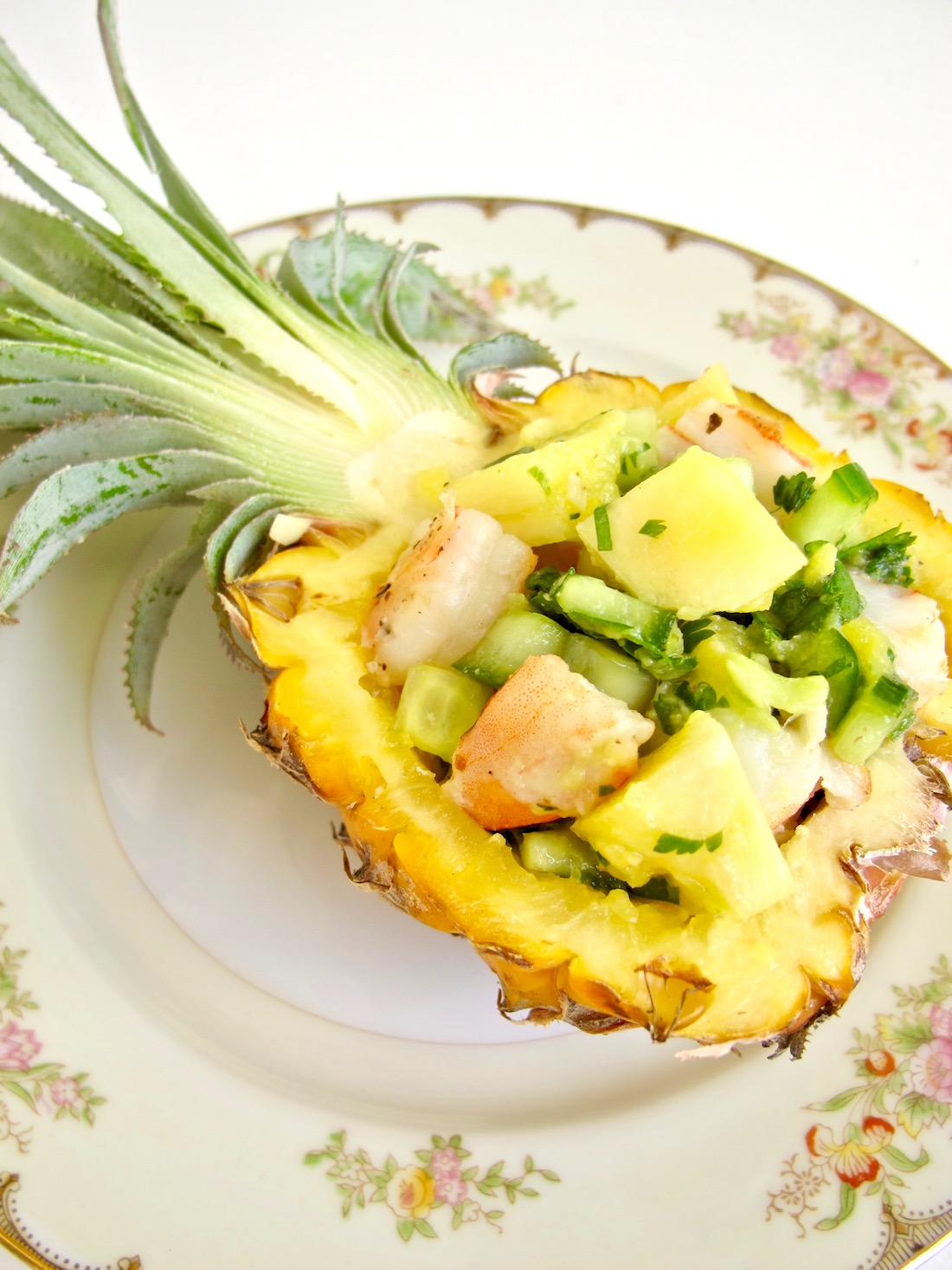 shrimp pineapple salad