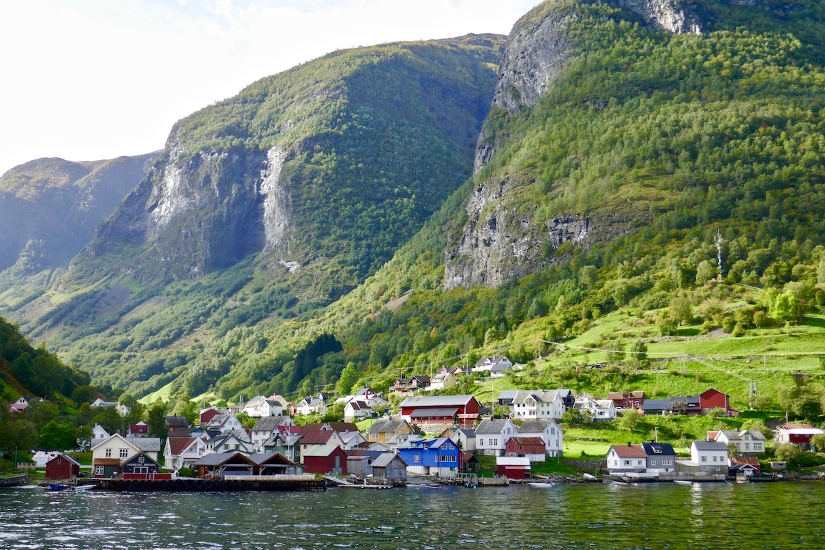 Fjord town