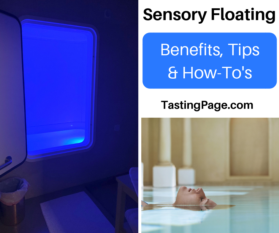 The benefits and how to's on sensory deprivation floating | TastingPage.com #floating #selfcare #meditation #float #health
