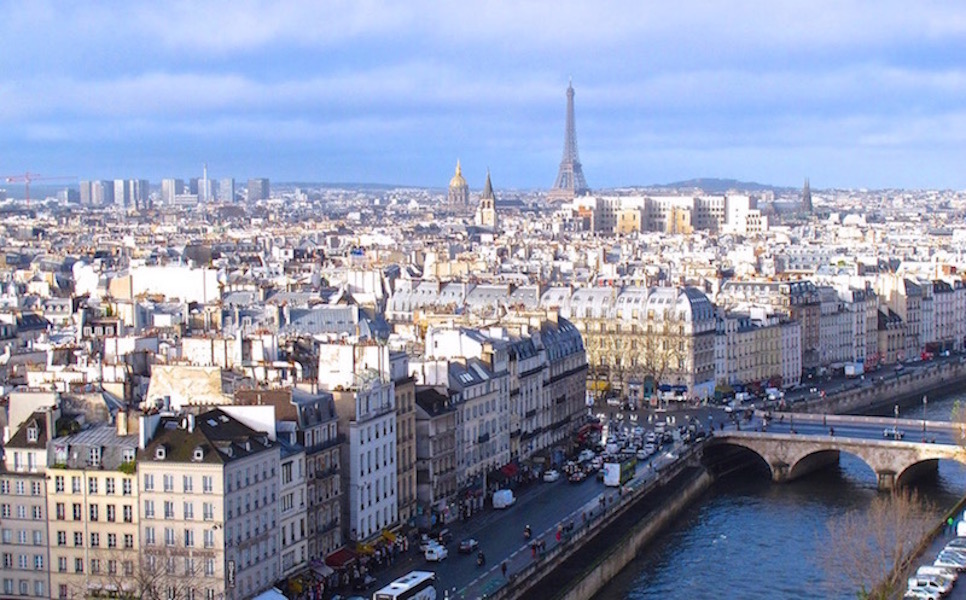 Paris for healthy living
