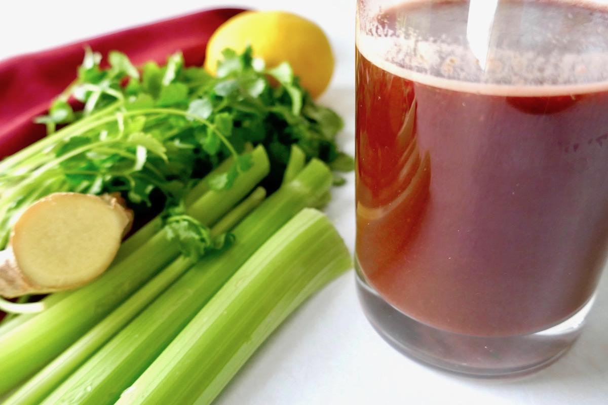 beet cleansing juice