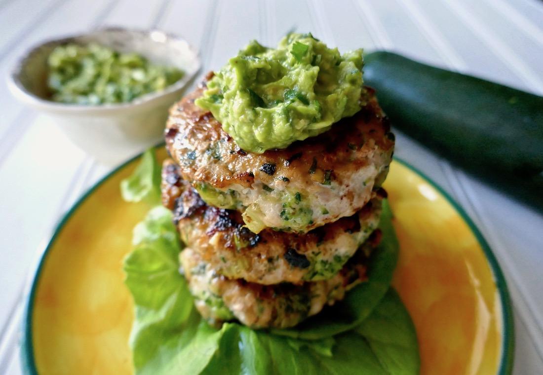 veggie chicken burgers