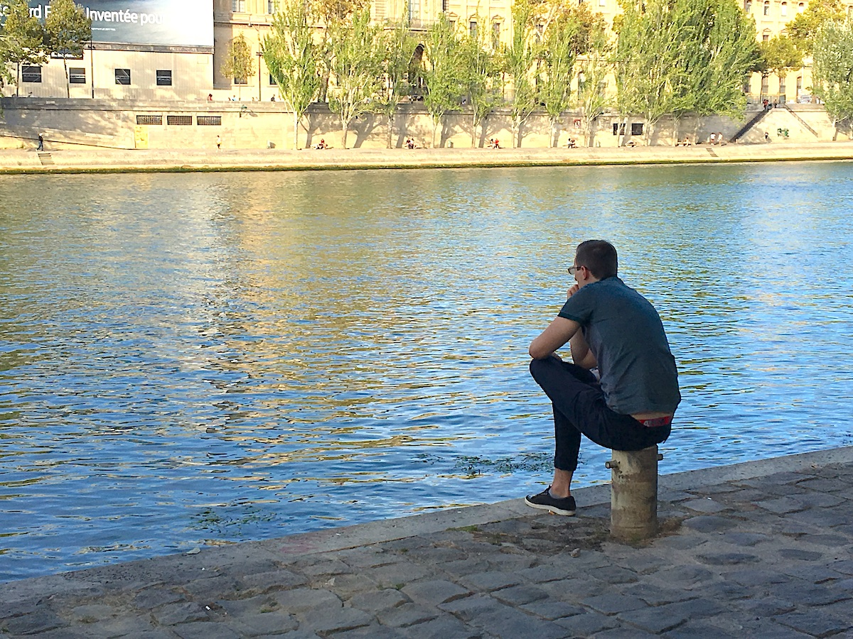thinking along the seine