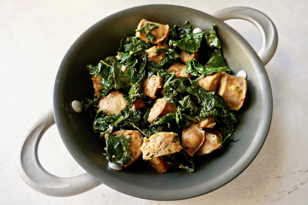 sausage kale skillet
