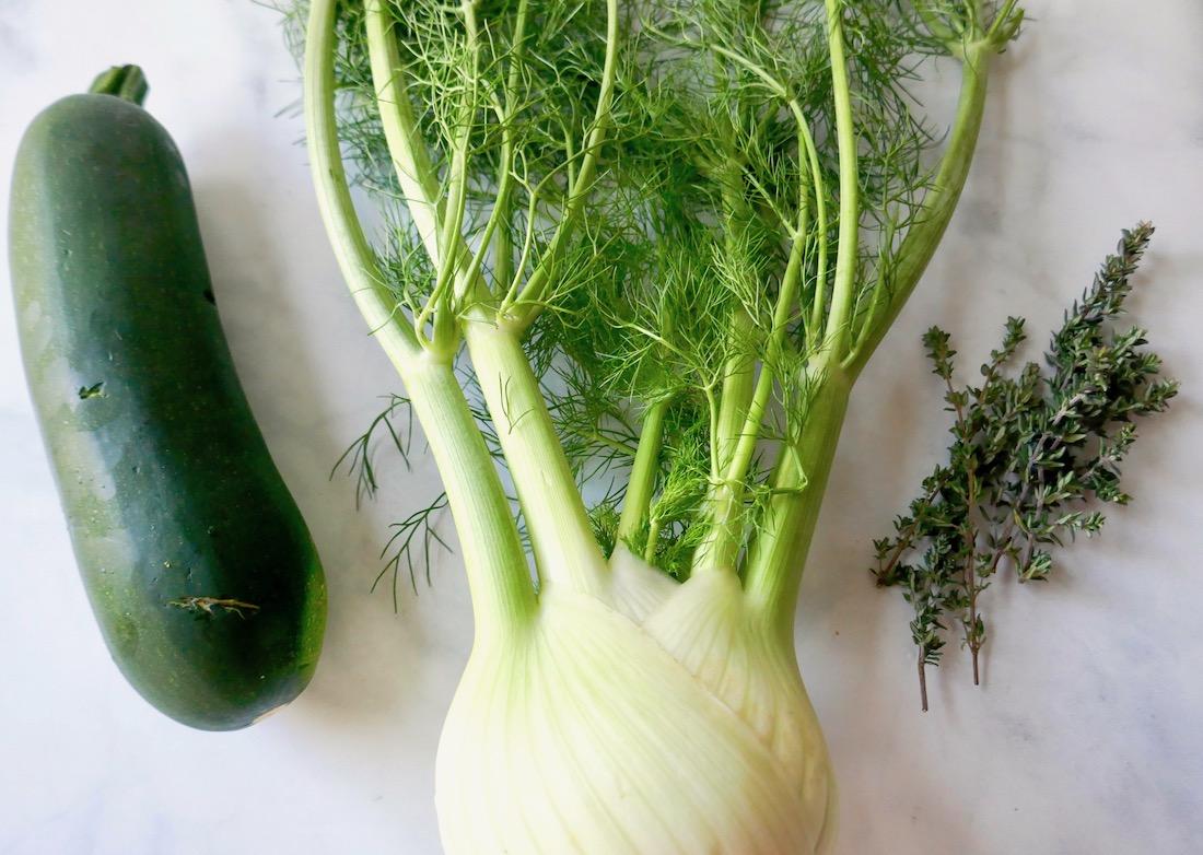 fennel zucchini thyme