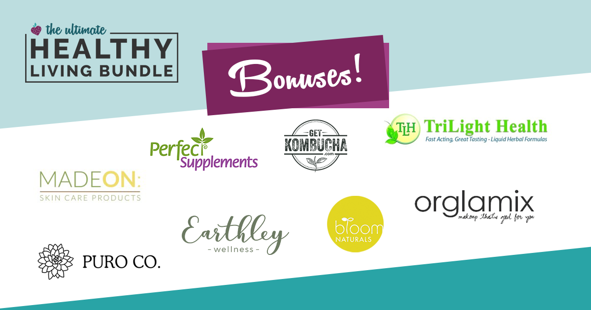 bonuses for Ultimate Healthy Living Bundle 2019