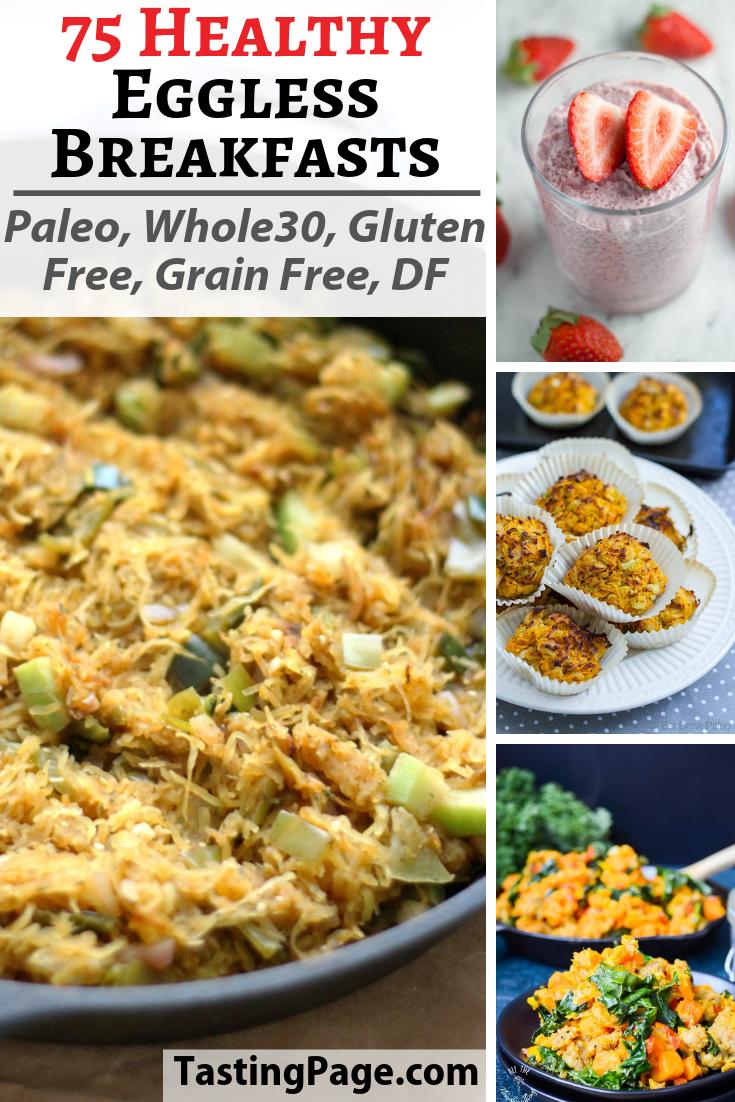 75 Whole30 Paleo Eggless Breakfast Recipes Tasting Page