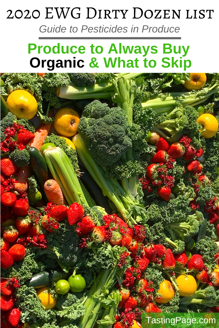 What Produce To Always Organic