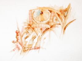 cordoba mosque preliminary watercolor sketch II copyright sophia khan.jpg