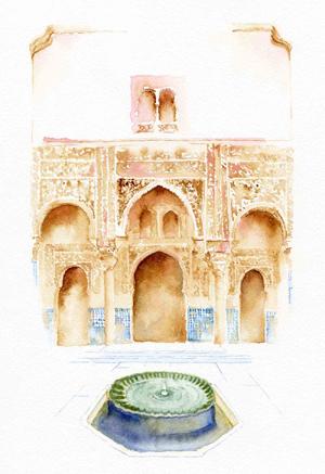 courtyard-of-the-mexuar-alhambra-palace-granada-watercolor-copyright-sophia-khan.jpg