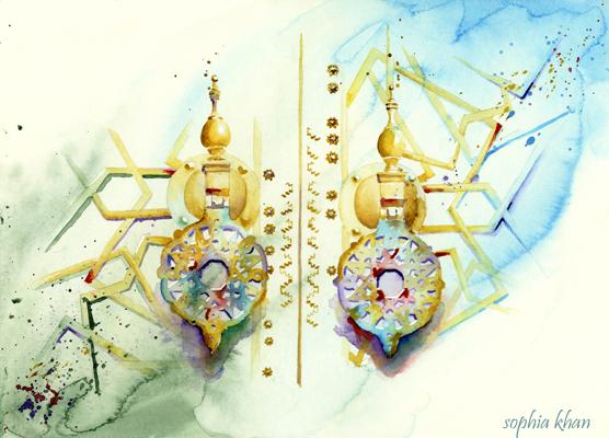 fez-the-lure-morocco-watercolor-sophia-khan.jpg
