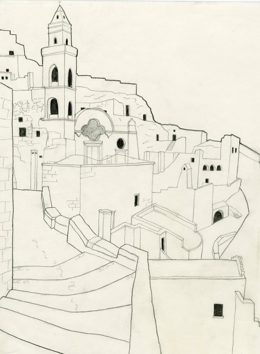 Sassi_of_Matera_Art_by_SophiaKhan.jpg