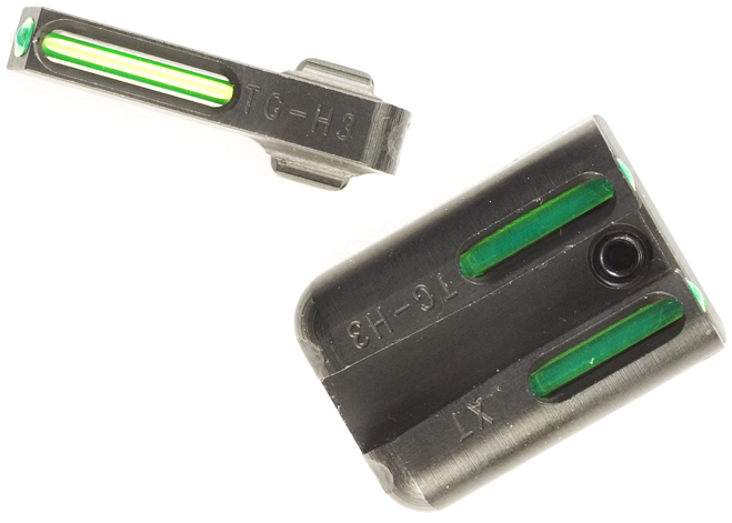 A set of Truglo TFO night sights