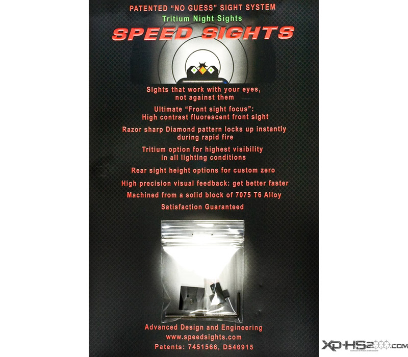 ADE Speed Sights Packaging