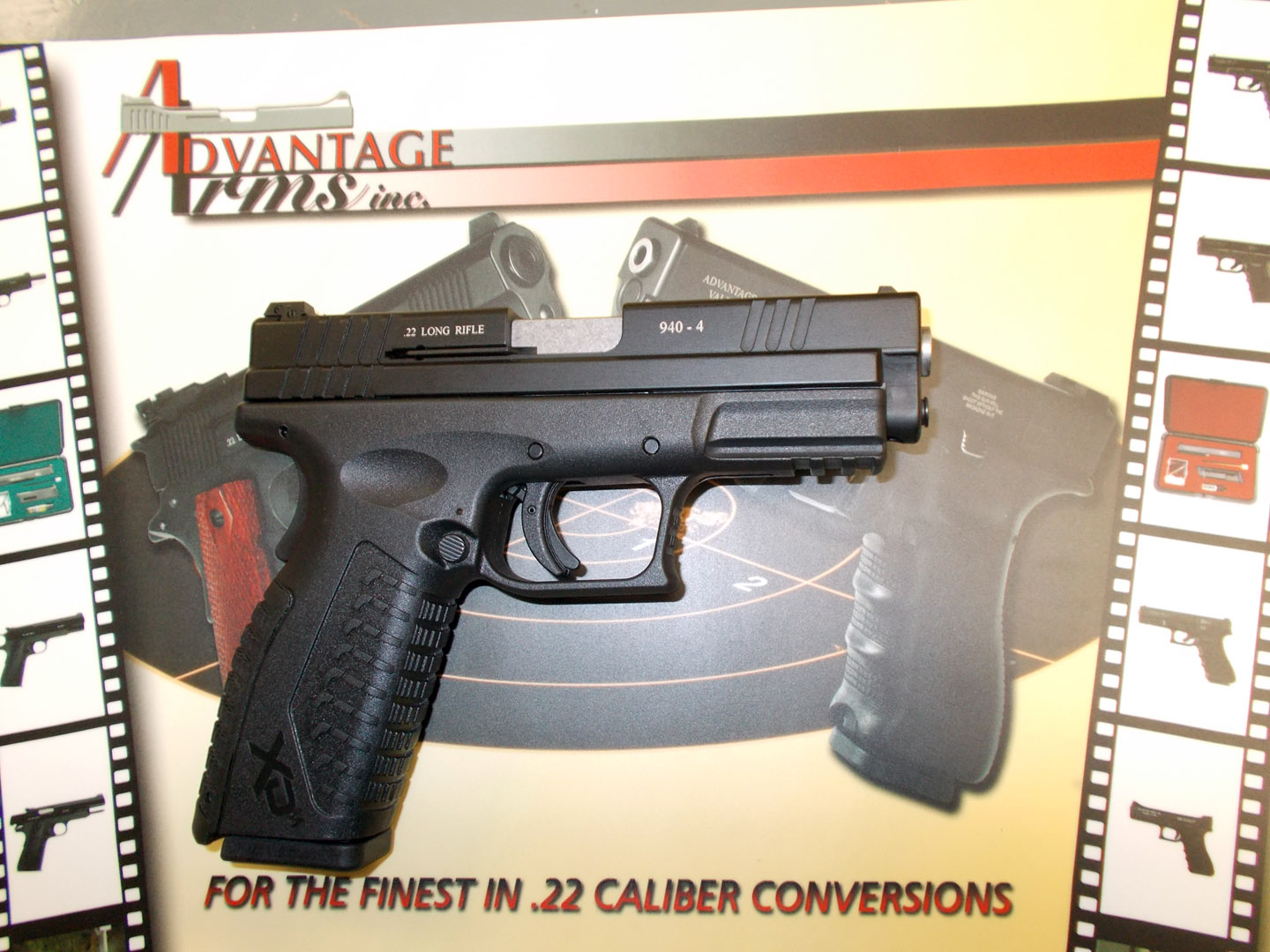 Advantage Arms XDM 22LR Conversion Prototype.