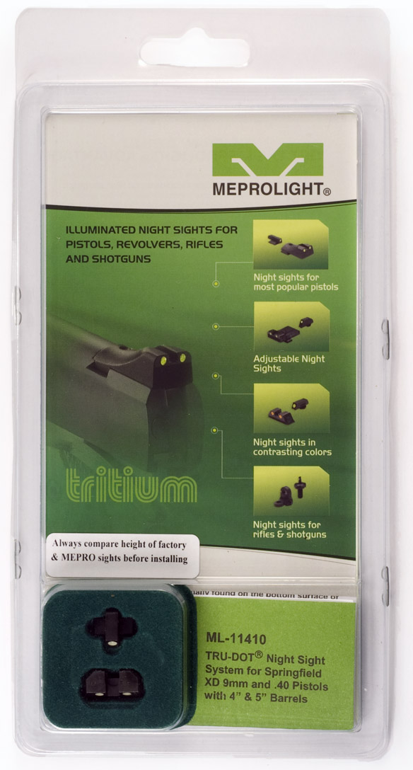 Meprolight Tru-Dot current packaging.