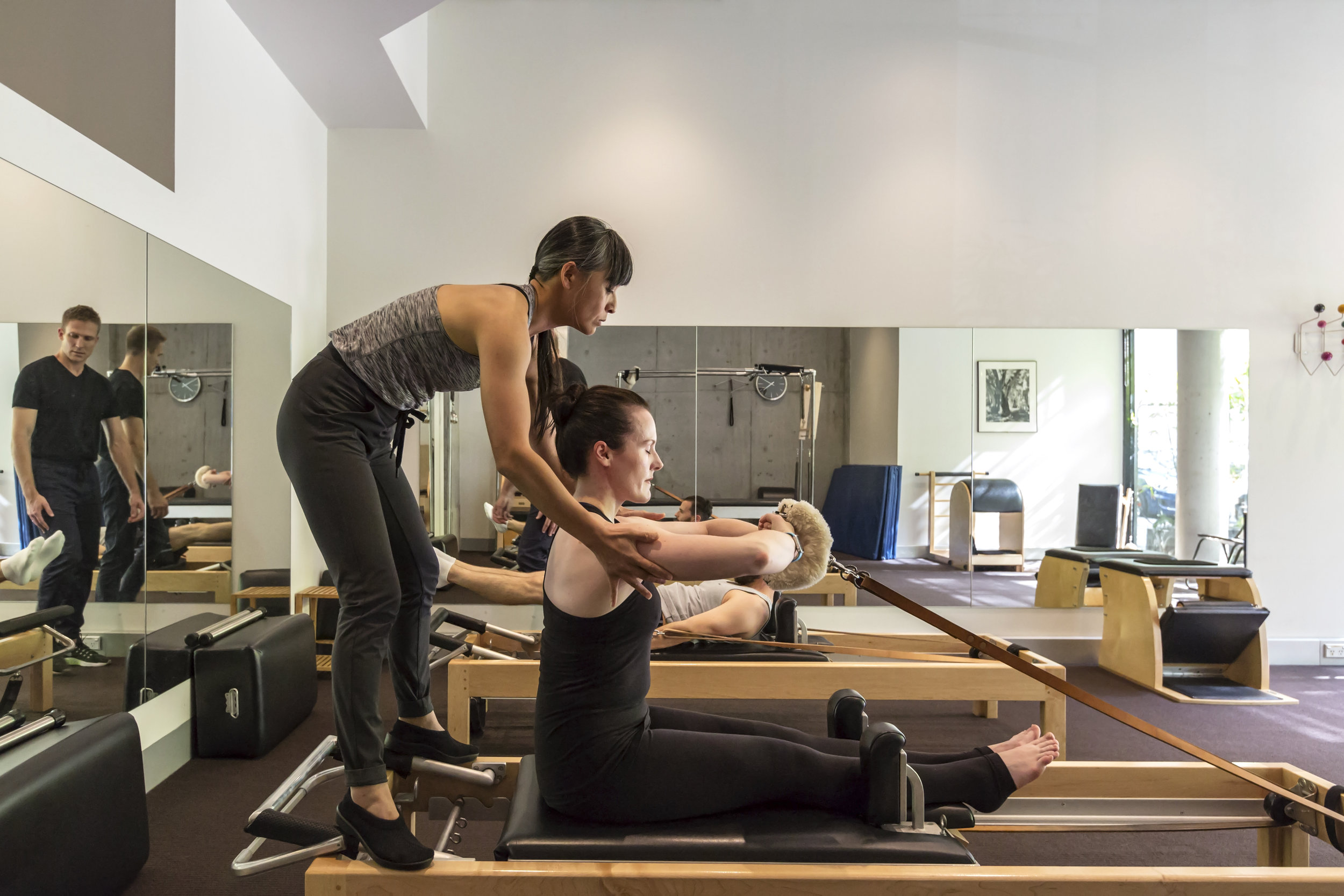 Pilates Sydney Studio Teaching Traditional Pilates in Surry Hills