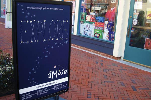 Explore Signage