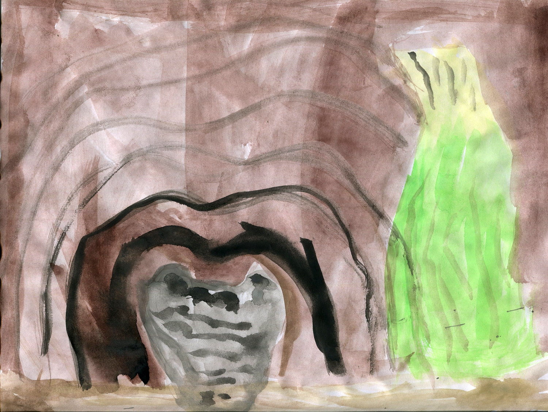 A Crocodile's Morning  by Elijah