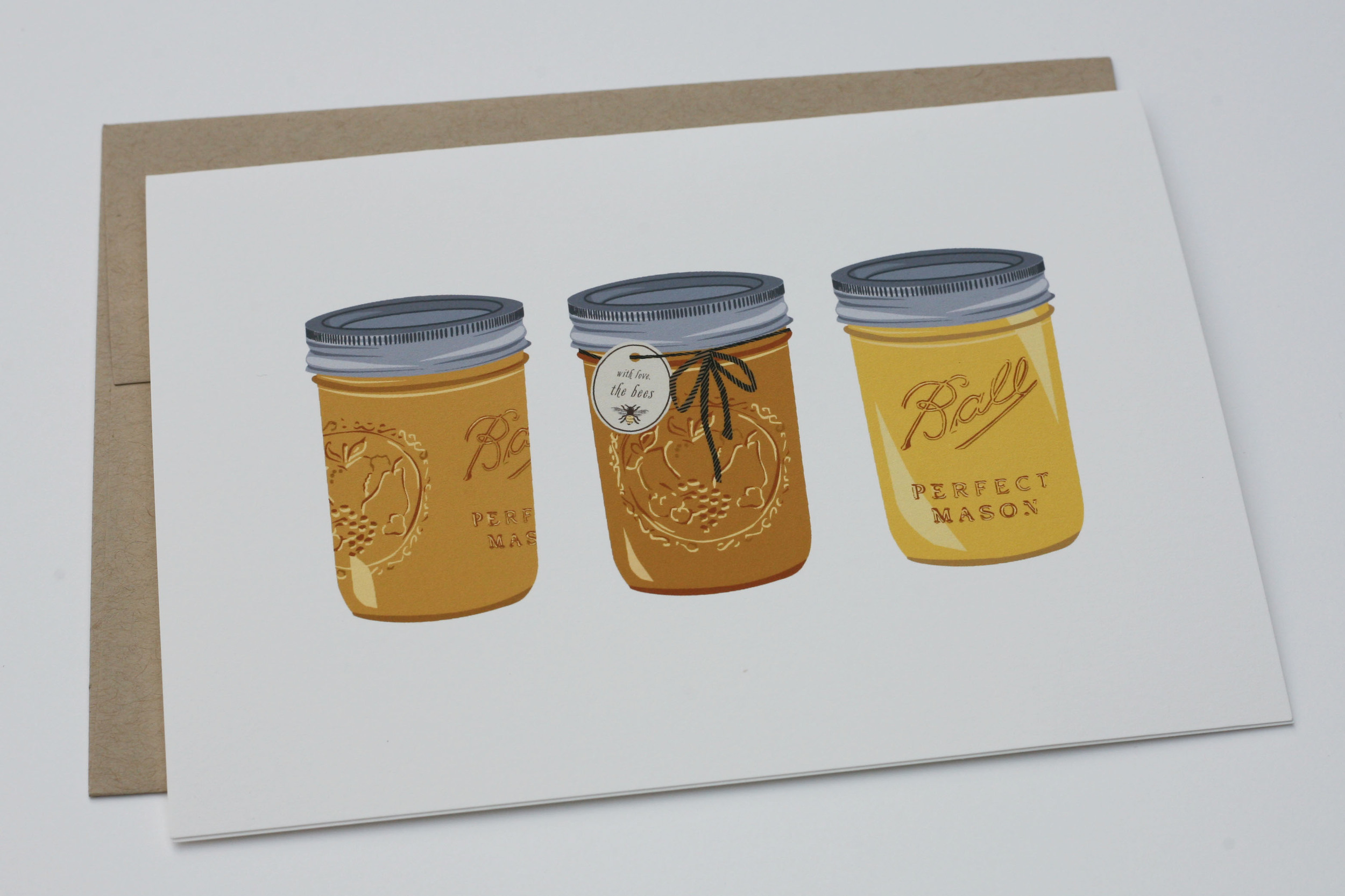 From the Bees Greeting Card