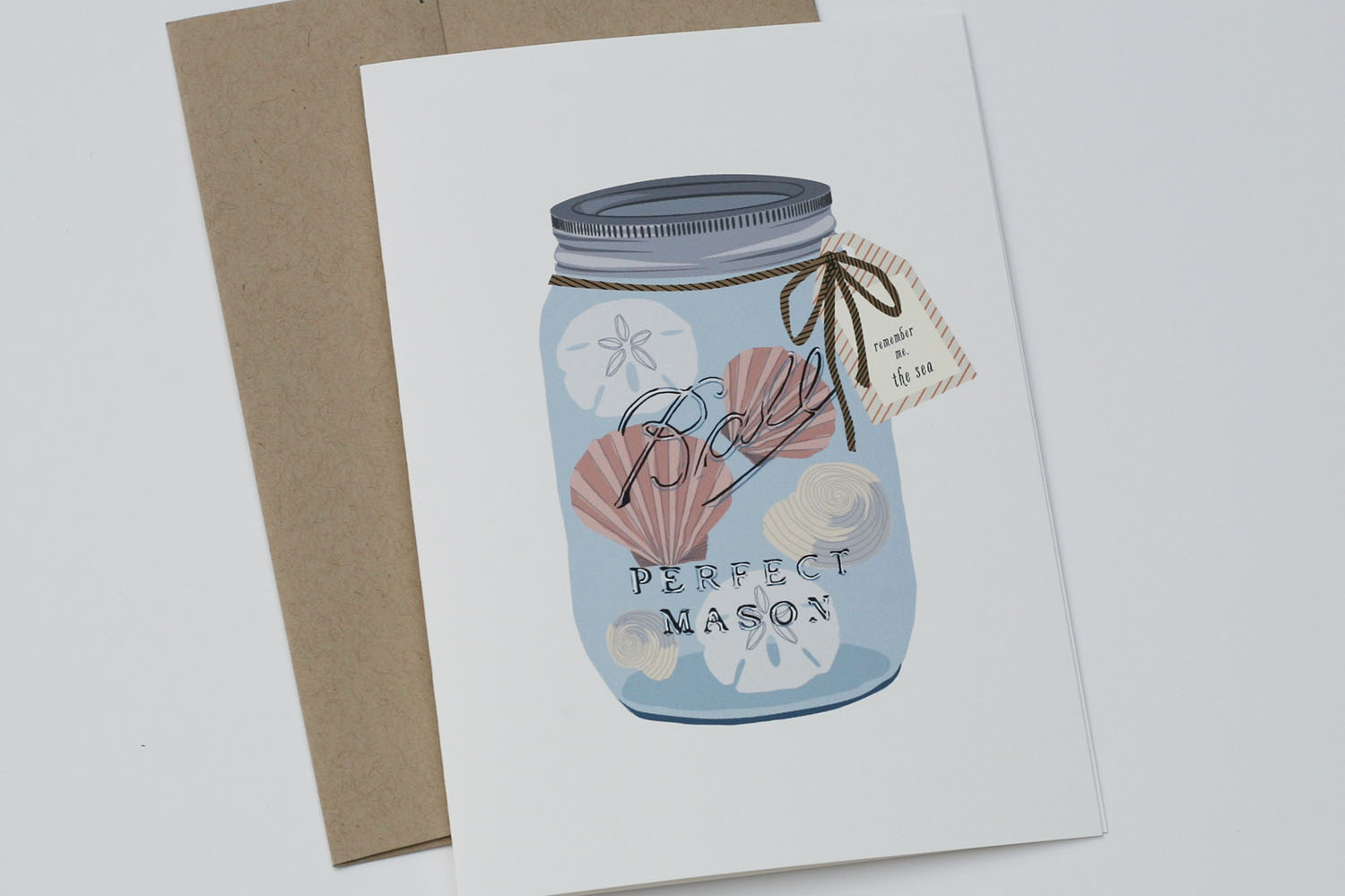 Remember the Sea Greeting Card