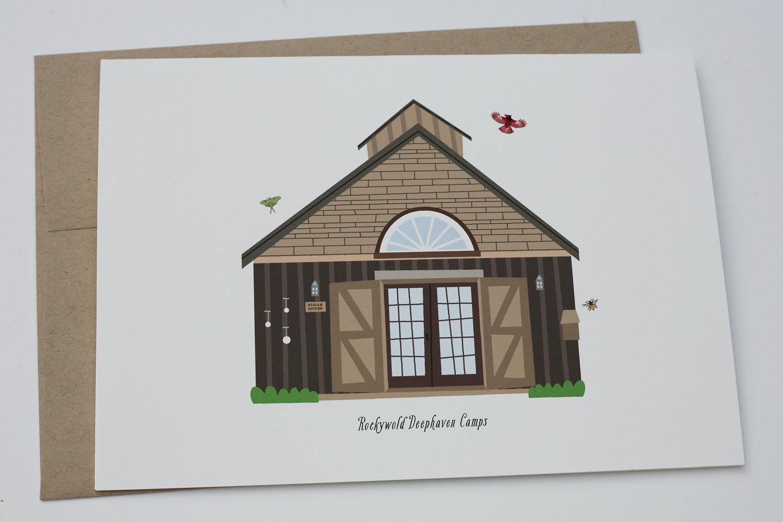Squam Lake Greeting Card