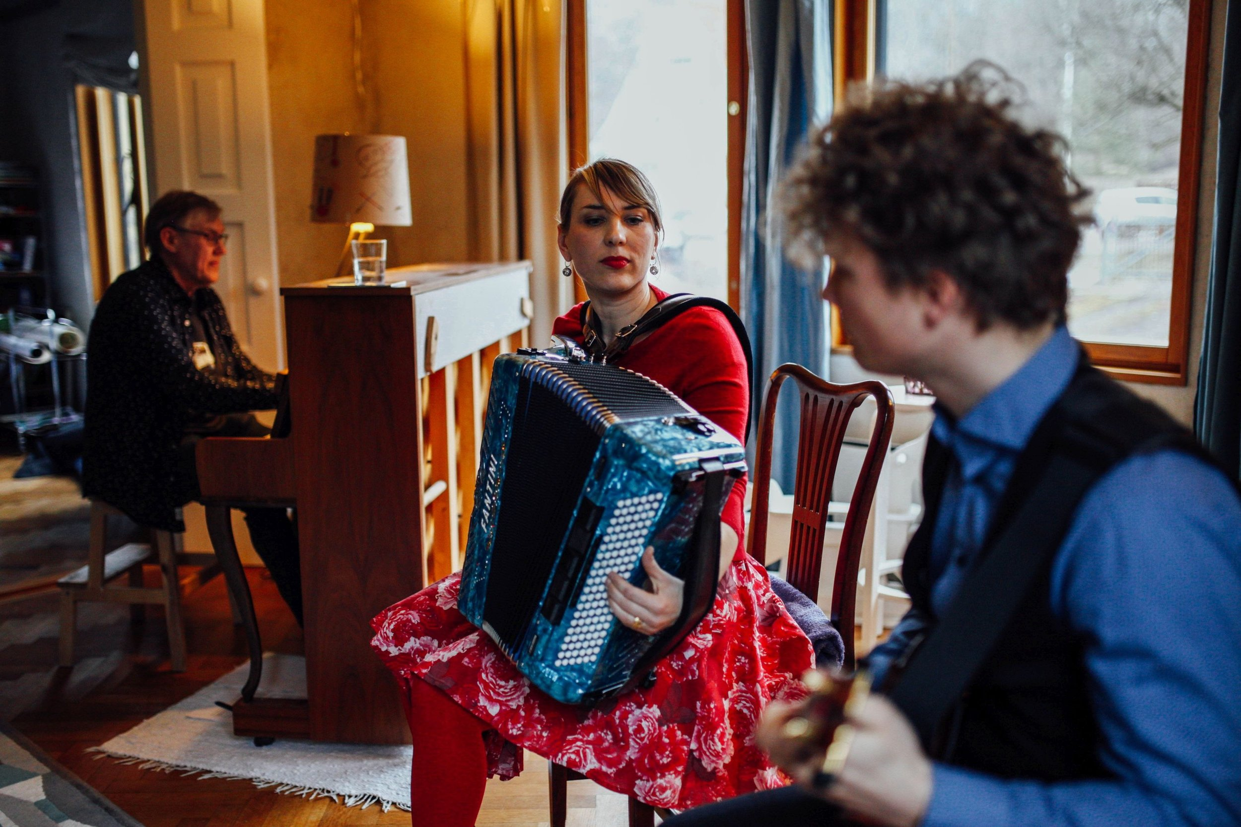 Tuulikki Bartosik Trio TMW photo by Kaisa Keizars.