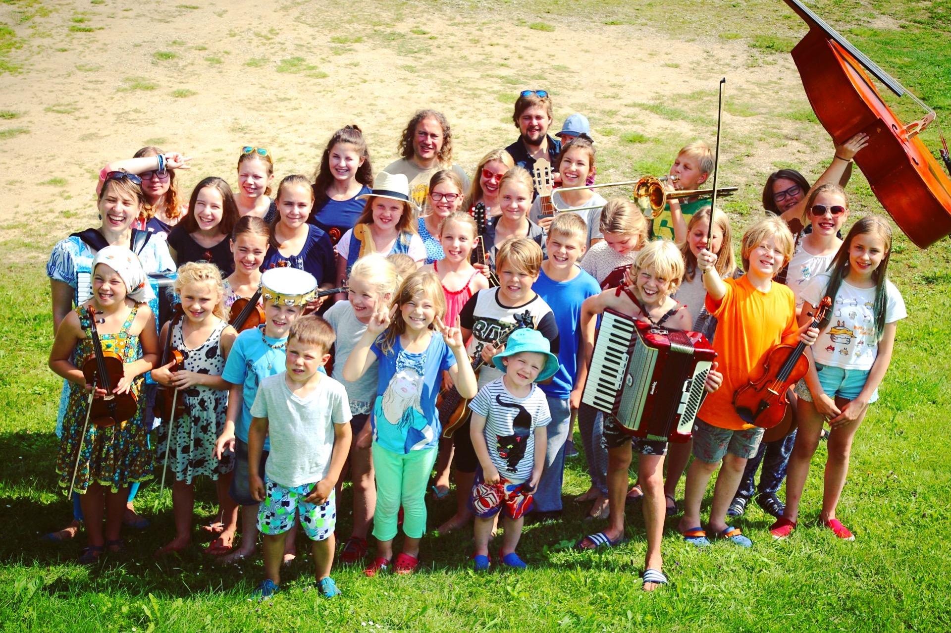 First ever Estonian Children Ethno camp in Rõuge.