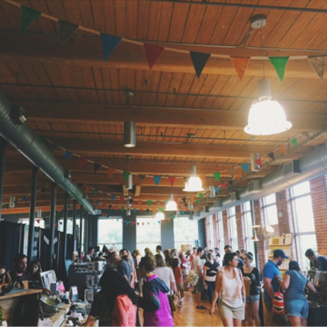 Such a beautiful space filled with so many great makers.