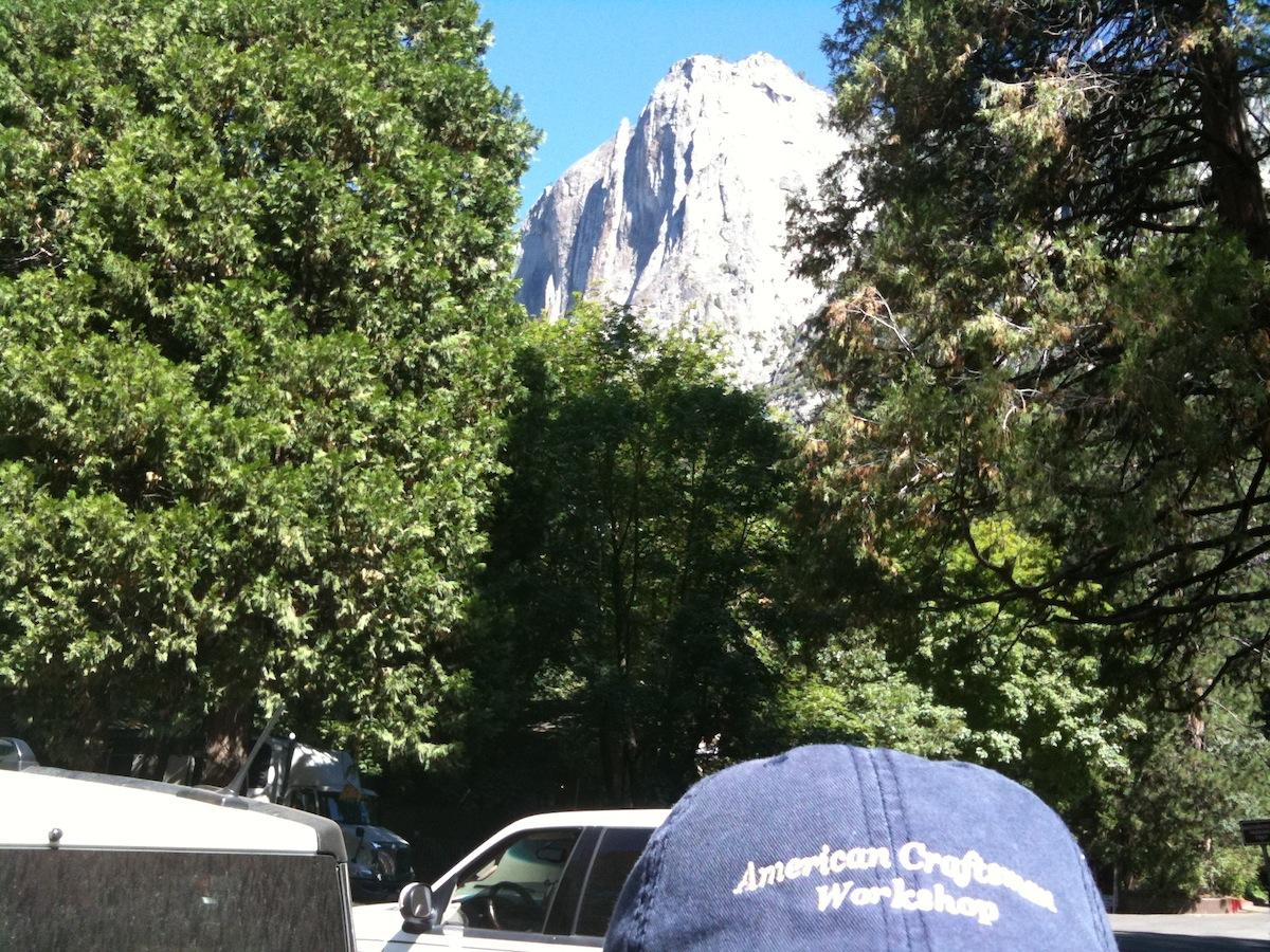 ACW Hat at Yosemite National Park, California